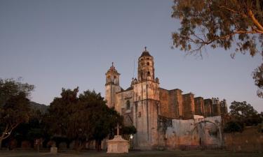 Hoteles en Tepoztlán