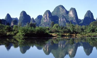 Habitaciones en casas particulares en Yangshuo