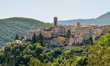 Semesterboenden i Cerreto di Spoleto