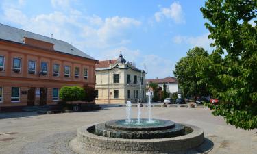 Бюджетные отели в городе Moldava nad Bodvou