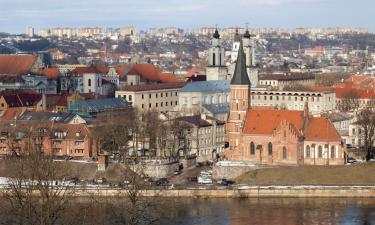 Viešbučiai mieste Kaunas