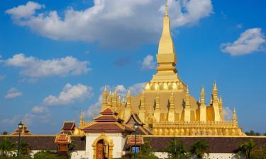 Hostales y pensiones en Vientiane