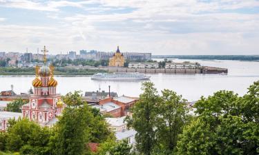 Отели в Нижнем Новгороде