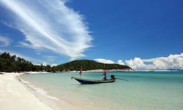 Villaer i Choeng Mon Beach