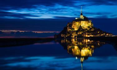 Hôtels acceptant les animaux domestiques au Mont-Saint-Michel