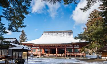 Hotels met Parkeren in Hiraizumi