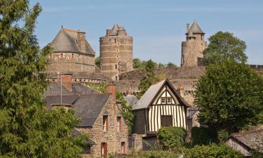 Hotels with Parking in Fougères