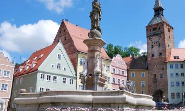 Отели в городе Ландсберг-ам-Лех