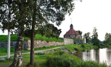 Дома для отпуска в городе Приозерск