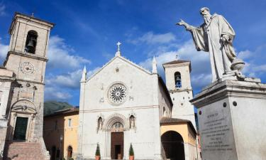 B&Bs in Norcia