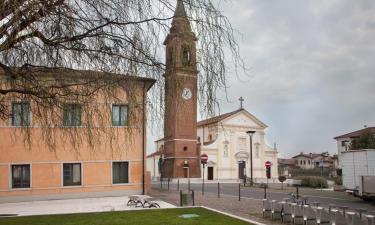 Hotell med parkering i Tezze sul Brenta