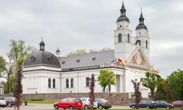 Hotele z parkingiem w mieście Sokółka