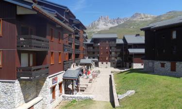 Apartments in Les Allues