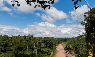 Lodges in Tambopata