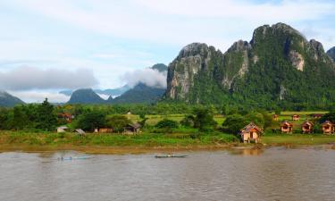Hoteles en Vang Vieng