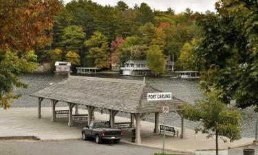 Hotéis com estacionamento em Port Carling