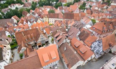 Hotels with Parking in Bad Wimpfen