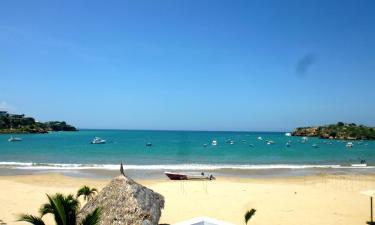 Hotéis na praia em Ayangue