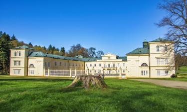 Hôtels avec parking à Lázně Kynžvart