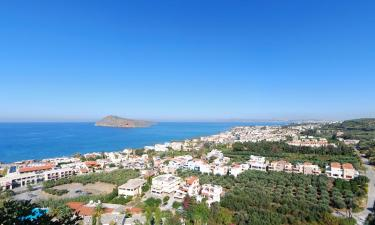 Accommodations in Platanias