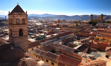 Hoteles con parking en Potosí