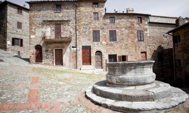Lantgårdar i Castiglione d'Orcia