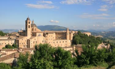 Urbino'daki oteller