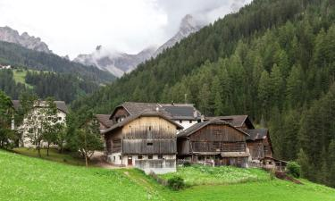 Skidresorter i Mazzin