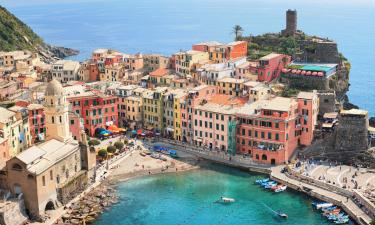 Apartments in Vernazza