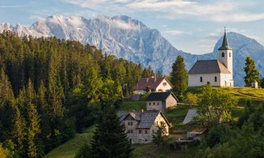 Family Hotels in Solčava