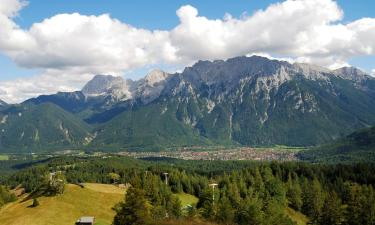 Apartments in Mittenwald