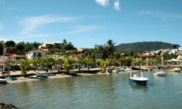 Locations de vacances à Les Trois-Îlets