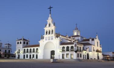 Hostales y pensiones en El Rocío