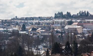 Hotely s parkováním v destinaci Hořovice