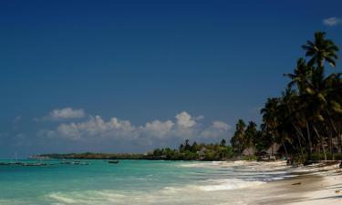 Beach Hotels in Jambiani
