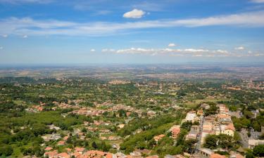 Semesterboenden i Rocca di Papa