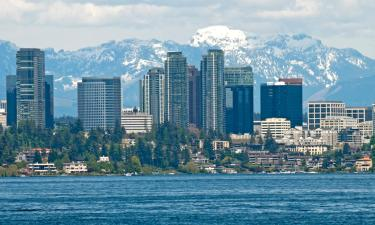 Hotels with Parking in Bellevue
