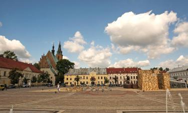 Hotele z parkingiem w mieście Olkusz