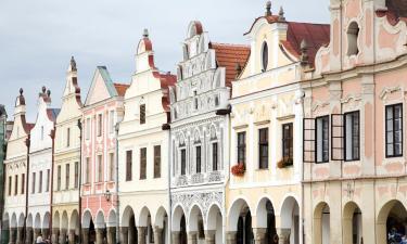 Apartmány v destinaci Telč