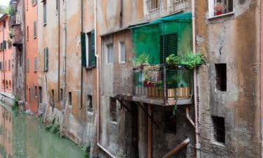 Hotell med parkering i Bentivoglio