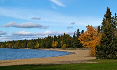 Hotéis com estacionamento em Meadow Lake