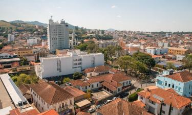Budget hotels in Santa Rita do Sapucaí