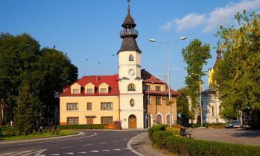 Hotellit, joissa on pysäköintimahdollisuus kohteessa Tomaszów Lubelski