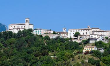 Lantgårdar i Sassoferrato
