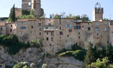 Appartements à Montbrun-les-Bains