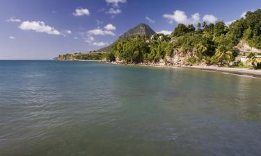 Hotels with Parking in Choiseul