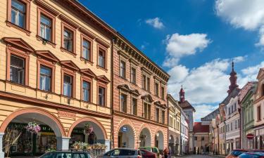 Hoteles con parking en Jaroměř