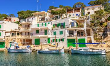 Apartments in Cala Figuera