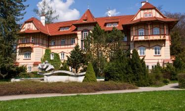 Rodinné hotely v destinaci Luhačovice