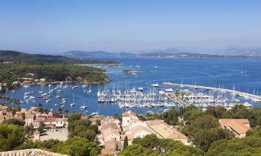 Self Catering Accommodation in Porquerolles